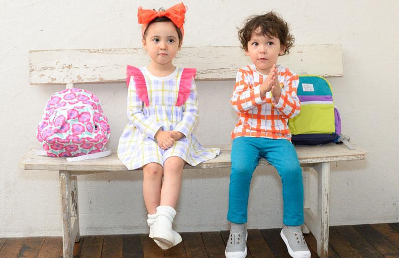 Caldia カルディア きれいなカラーとオリジナルの柄でみせるヨーロピアンカジュアル。子どもと大人が一緒に楽しめるファッションを提案します。