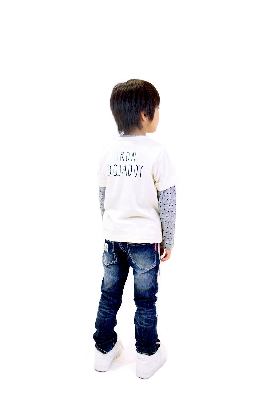 V54802 日本製星ポケット星柄Tシャツセット
